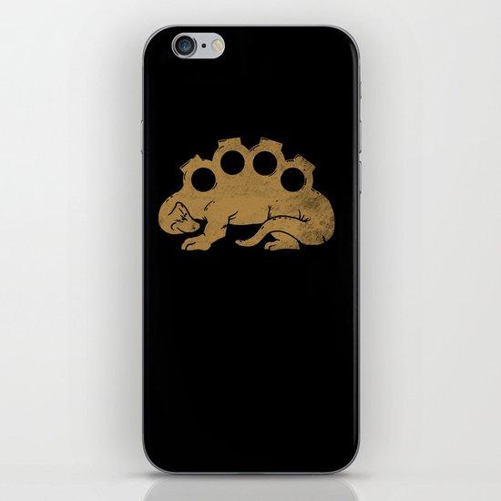 Brassknuckleosaurus iPhone & iPod Skin