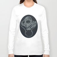 underwater Long Sleeve T-shirts featuring Underwater by Marie Toh