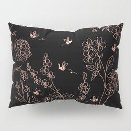Bee Nice - rose gold Pillow Sham