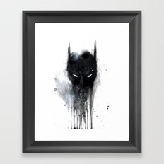 Bat Man fan art Framed Art Print