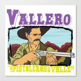 Vallero01 Canvas Print