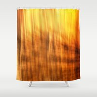 tapestry Shower Curtains featuring Tapestry by Mark Alder