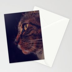 Profile of a Cat Stationery Cards