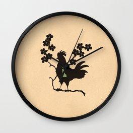 Delaware - State Papercut Print Wall Clock