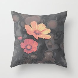 All our yesterdays Throw Pillow