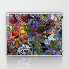 Cryptid Creatures and Mysterious Monsters Laptop & iPad Skin