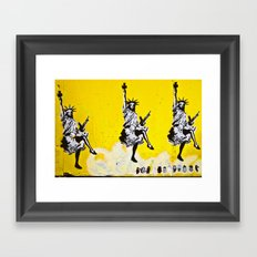 Liberty and Friends Framed Art Print