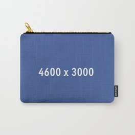3000x2400 Placeholder Image Artwork (Facebook Blue) Carry-All Pouch