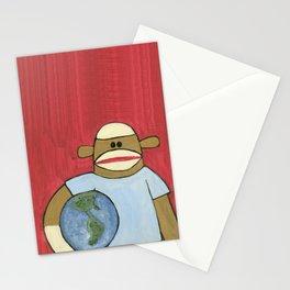 Sock Monkey 109 Stationery Cards