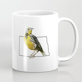 North Dakota – Western Meadowlark Coffee Mug