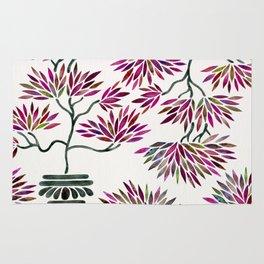 Bonsai Tree – Fuchsia Palette Rug