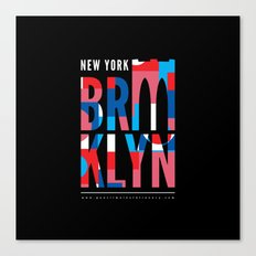 Brooklyn Bridge Remix // www.pencilmeinstationery.com Canvas Print