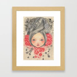 Tangled Skein Framed Art Print