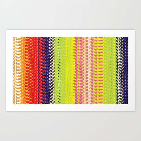 Vector Equilibriums Art Print