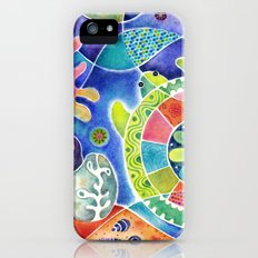 Sea Turtle Abstract iPhone (5, 5s) Slim Case