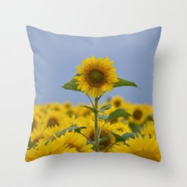 She Is The Sun Throw Pillow