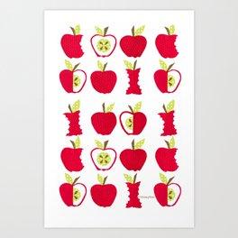 apple of my eye forever Art Print