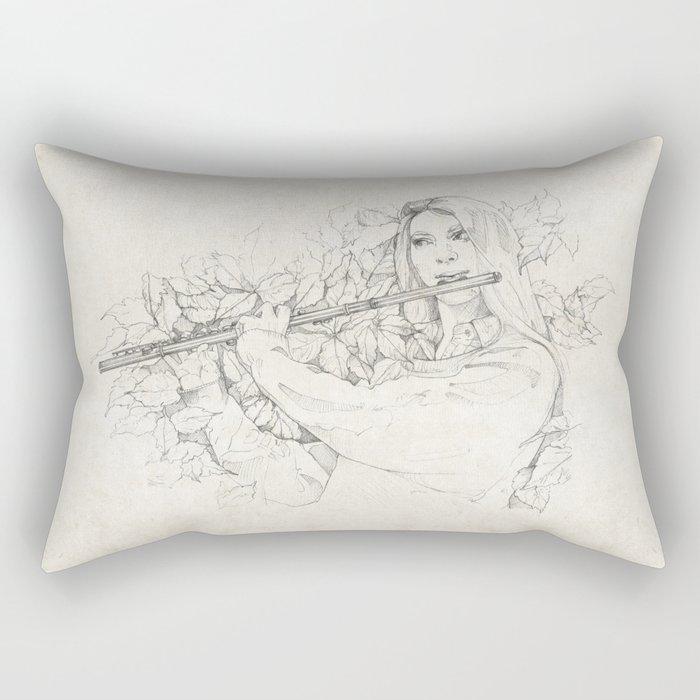 Flute Rectangular Pillow