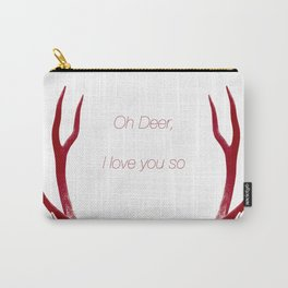 Oh Deer, I love you so Carry-All Pouch