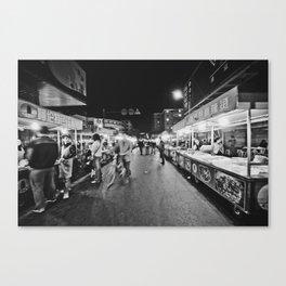 Night Market Canvas Print