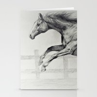 horse Stationery Cards featuring Horse by Anna Shell