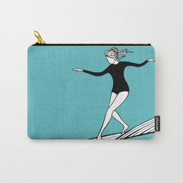 The Surfer Girl Carry-All Pouch