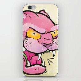 Pink Panther Tattoo Flash iPhone Skin