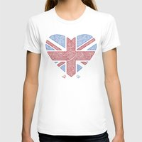 union jack T-shirts featuring Union Jack  by Joanne Hawker