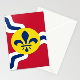 Flag of Saint Louis Stationery Cards