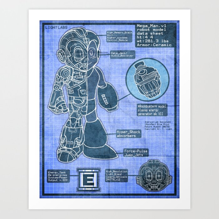 Build Your Own Mega Robot! Art Print