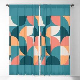 Mid Century Geometric 18 Blackout Curtain