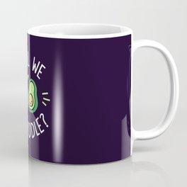 Shall We Avocuddle? Coffee Mug