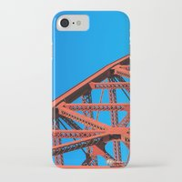 broadway iPhone & iPod Cases featuring Broadway Bridge by Cameron Booth