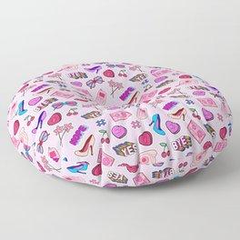 Girl things III Floor Pillow