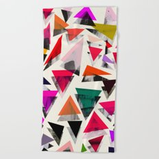 Triangle pattern Beach Towel
