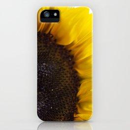 Sunflower III iPhone Case