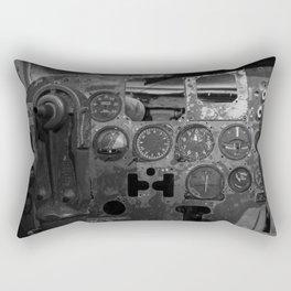 C123 COCKPIT EL AVION BAR, COSTA RICA Rectangular Pillow
