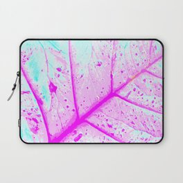 Abstract Tropical Leaf (Close Up) Laptop Sleeve