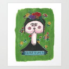 Frida Kuhlo Art Print