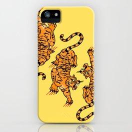 Tiger Trio iPhone Case