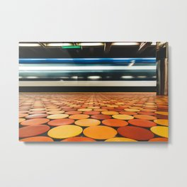 Montreal Subway | Métro de Montréal | Lionel-Groulx Metal Print