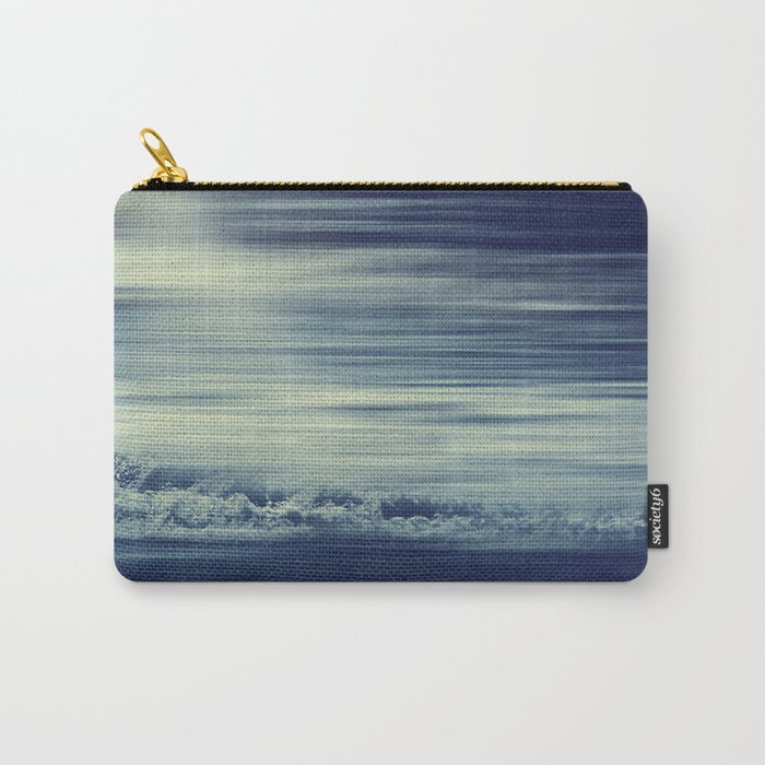 seaStream - abstract seascape Carry-All Pouch