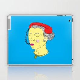 Anxious Lady Laptop & iPad Skin