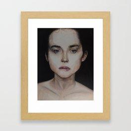 Female Portrait Framed Art Print