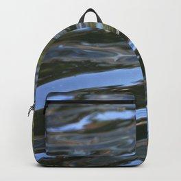 shiny waves Backpack