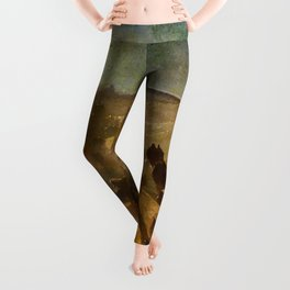 """Théophile Steinlen """"The Apotheosis of the Cats"""" Leggings"""