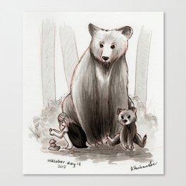 The Bearclan Canvas Print