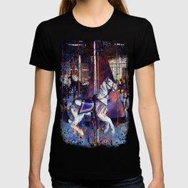 Haunted Halloween Carousel Ride T-shirt
