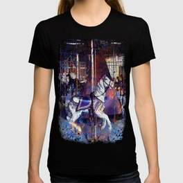 Haunted Halloween Carousel Ride T-shirt