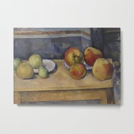 Still Life With Apples and Pears Metal Print